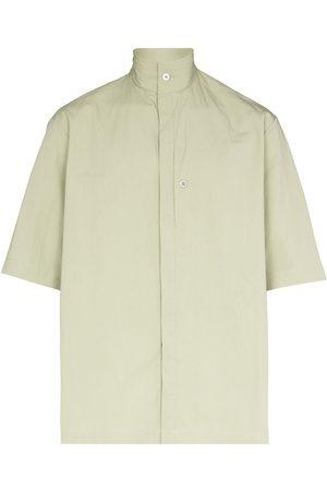 TOM WOOD Capital high-collar shirt
