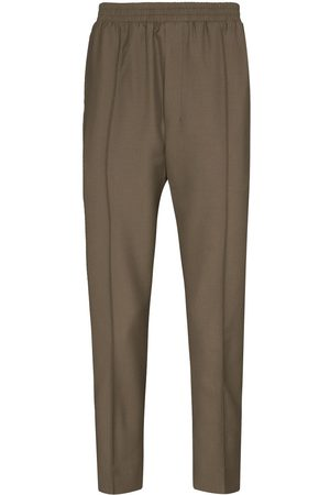 Tom Wood Elasticated-waist tapered trousers