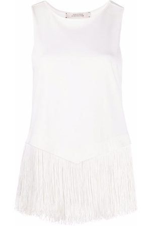 Dorothee Schumacher Fringy Moment sleeveless blouse