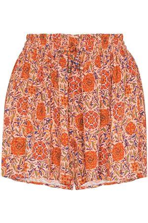 BOTEH Selene drawstring floral print shorts