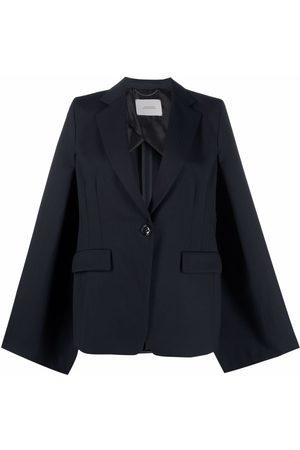 Dorothee Schumacher Tailoring Twist cape-sleeve blazer