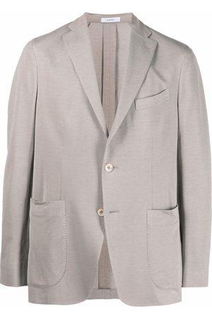 Boglioli Single-breasted blazer - Neutrals