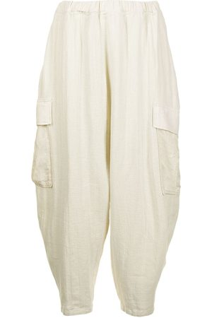 UNDERCOVER Tapered-leg cargo trousers - Neutrals