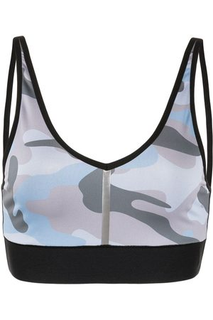 ULTRACOR Camouflage print sports bra
