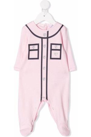 Chiara Ferragni Piped-trim cotton pyjamas