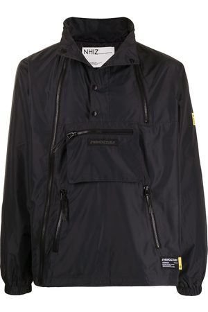 Izzue Logo-patch pullover jacket