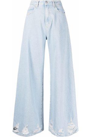 Icon Denim Kendall wide-leg jeans