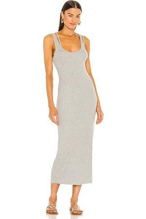 Lovers + Friends Tinsley Dress in Beige.