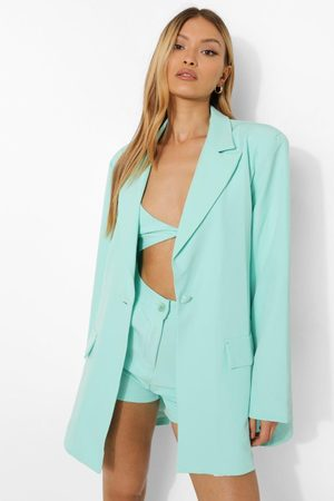 Boohoo Womens Relaxed Fit Blazer - - 4