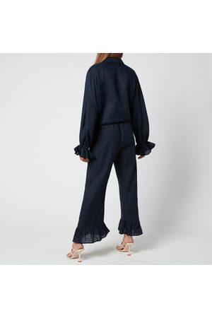 Sleeper Women Suits - Women's Rumba Linen Lounge Suit