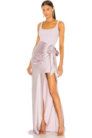 Cinq A Sept Marian Gown in Lavender.