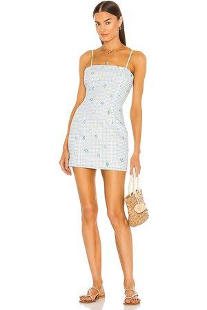 MAJORELLE Pearson Dress in Blue.