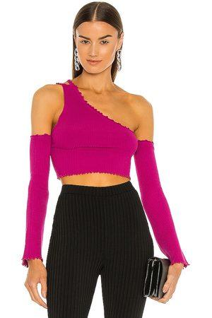 h:ours Juniper Sweater in Purple.