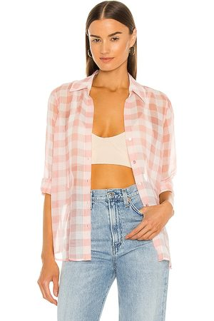 L'Agence Argo Blouse in Blush.