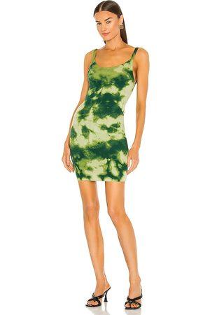 Cotton Citizen The Verona Tank Dress in Green.