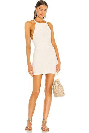 Michael Costello X REVOLVE Shiloh Mini Dress in Ivory.
