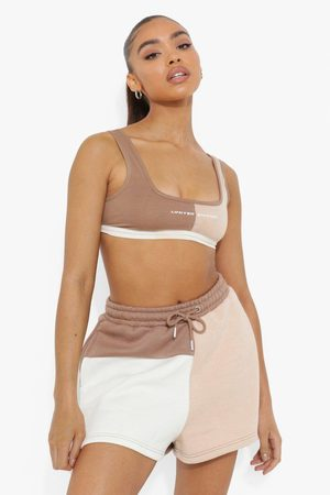 Boohoo Womens Colour Block Short - - S