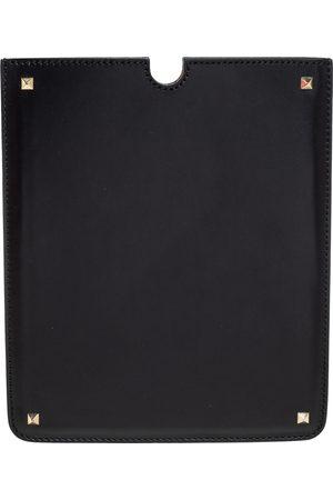VALENTINO Leather Rockstud iPad Case