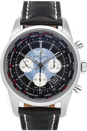 Breitling Stainless Steel Transocean Unitime Chronograph AB0510U4/BB62 Men's Wristwatch 46 MM