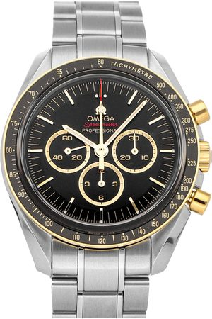Omega 18K Yellow Gold And Stainless Steel Speedmaster Professional Moonwatch Tokyo Olympics Limited Edition 522.20.42.30.01.001 Men's Wristwatc