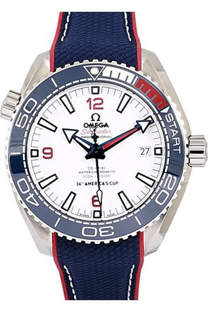 Omega Stainless Steel Seamaster Planet Ocean Men's Wristwatch 43.5 MM