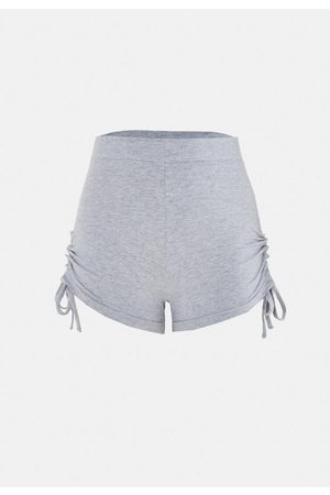 Missguided Tie Hem Runner Shorts