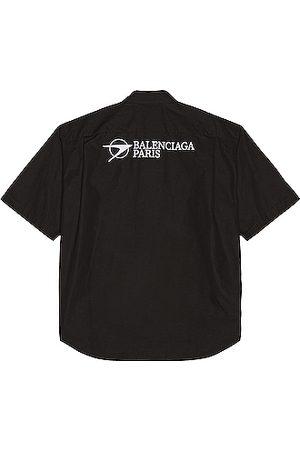 Balenciaga Large Fit Shirt in