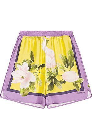 Valentino Garavani Silk Shorts in