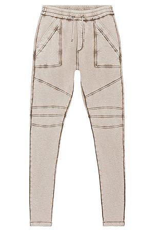 Balmain Washed Sweatpants in Grey