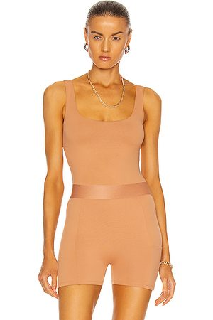 Alix NYC Mott Bodysuit in Tan