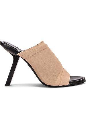 Balenciaga Stretch Sandals in