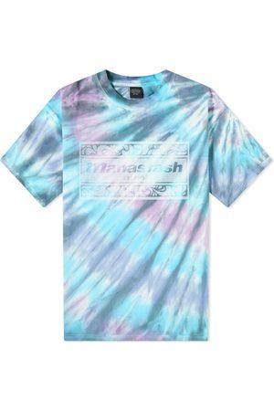Manastash Men T-shirts - Tie Dye Leaf Logo Tee