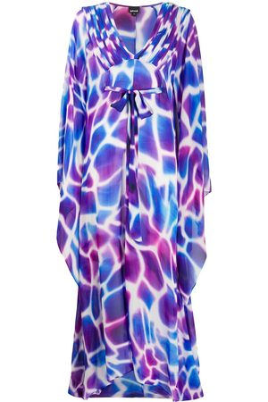 Roberto Cavalli Women Printed Dresses - Abstract-print maxi dress