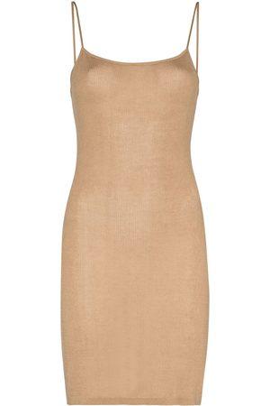 St Agni Women Casual Dresses - Nina knitted slip dress