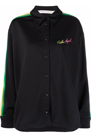 Palm Angels Miami logo-embroidered shirt