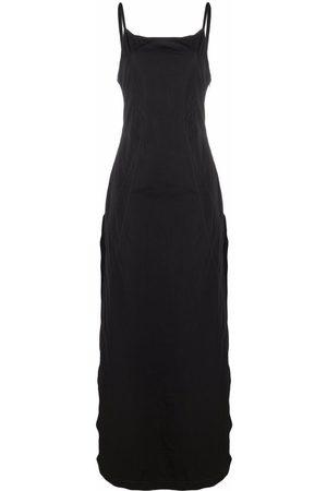 Heron Preston Contrast-stitching long dress