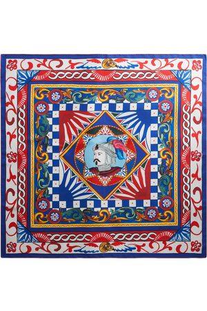 Dolce & Gabbana Women Scarves - Geometric-print multi-panel scarf