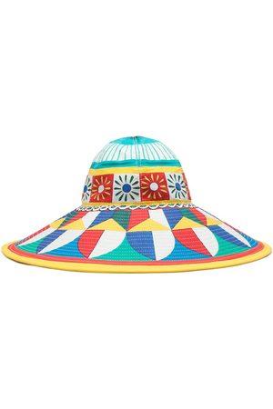 Dolce & Gabbana Women Hats - Geometric-print sun hat
