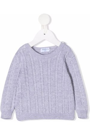 Siola Cable-knit cotton jumper - Grey