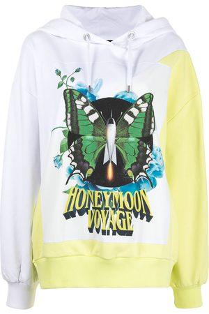 Twin-Set Honeymoon Voyage hooded sweatshirt