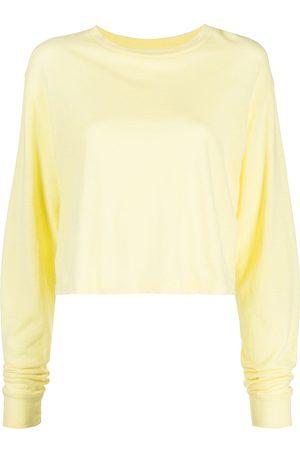 JOHN ELLIOTT Long sleeve cropped T-shirt
