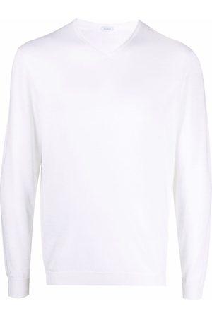 Malo Men Sweatshirts - Round neck knitted jumper - Neutrals