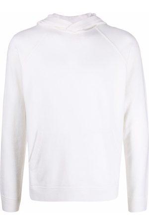 Malo Men Hoodies - Pullover cashmere hoodie - Neutrals