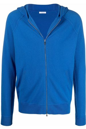 Malo Zip-up cashmere hoodie
