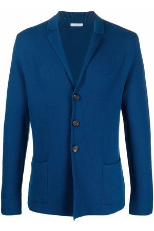 Malo Men Blazers - Virgin-wool knitted blazer