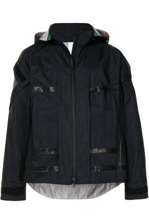 UNDERCOVER Men Bomber Jackets - A-print hooded jacket