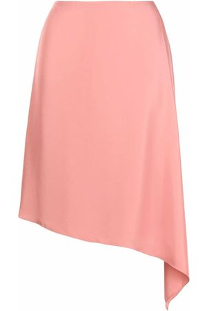 THEORY Women Asymmetrical Skirts - Asymmetric-hem skirt