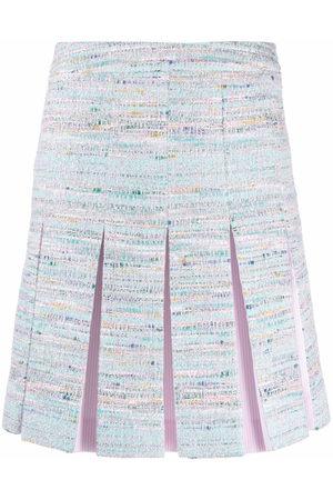 Karl Lagerfeld Pleated tweed skirt