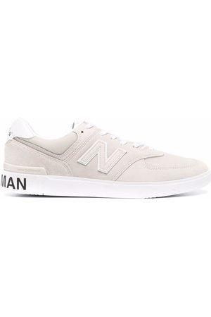 JUNYA WATANABE Men Sneakers - X New Balance suede trainers - Neutrals