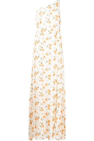 Reformation Women Printed Dresses - Evelyn floral-print long dress - Neutrals